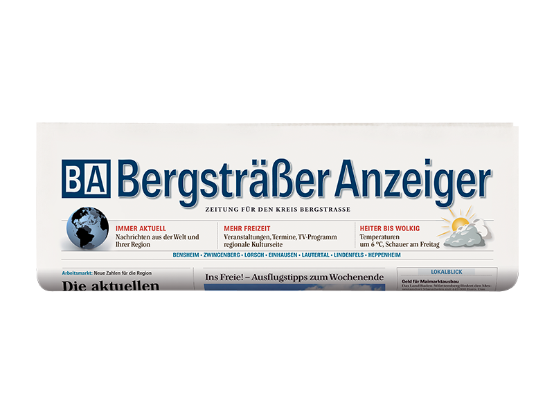 Print-Abo Bergsträßer Anzeiger